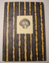 Cover of photo-etching accordian book
