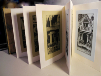 Photo-etching book of Martha's Vineyard