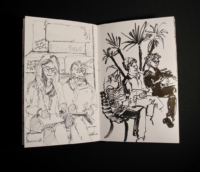 Sketchbook page, Italy