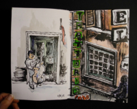 Sketchbook page, Rome