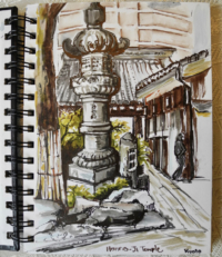 Sketchbook, Japan